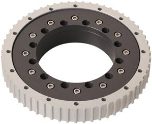 iglide® PRT geared slewing ring bearing