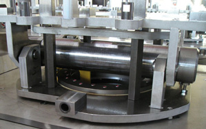Sliding slewing ring application