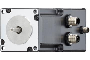 drylin® E stepper motor with encoder and brakes, NEMA 23