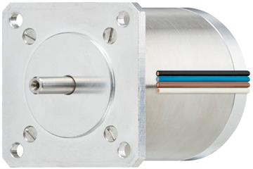 drylin® E stepper motor with stranded wire, vacuum, NEMA 23