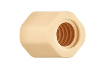 drylin® injection-molded lead screw nuts, sleeve, multi-start, with machined threads, JSRM