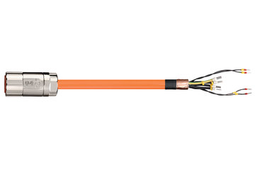 readycable® servo cable similar to B&R i8CMxxx.12-5, base cable PUR 10 x d