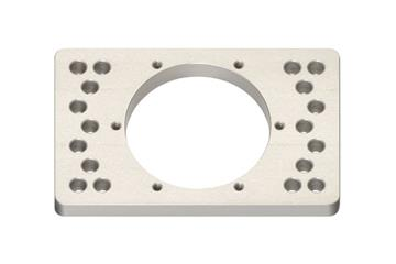 iglide® PRT adapter plate for slewing ring