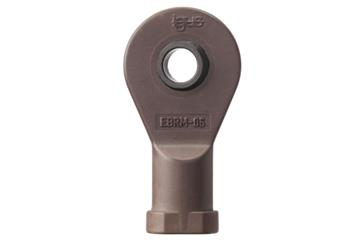 Rod end, high temperature, with female thread, EBRM igubal®, spherical ball iglide® T500, mm