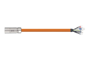 readycable® servo cable similar to Beckhoff ZK4000-2112-xxxx, base cable PUR 10 x d