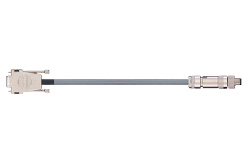 readycable® encoder cable similar to Festo KDI-MC-M8-SUB-9-xxx, base cable PUR 10 x d