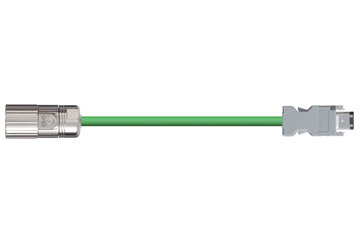 readycable® encoder cable similar to Omron R88A-CRWA-xxxC-DE, base cable PUR 7.5 x d