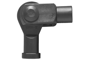 Clevis joint with pin, circlip and rod end bearing, GELMKE, igubal®