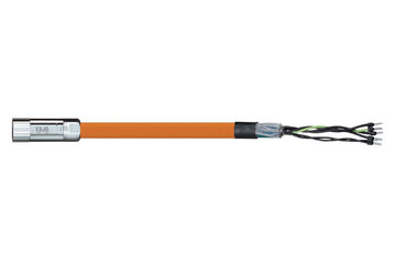 readycable® motor cable suitable for Parker iMOK42, base cable iguPUR 15 x d