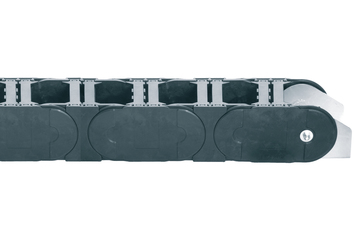 Series 800, energy chain with crossbars every link, robust version, snap-open along both sides