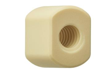 drylin® trapezoidal lead screw nut with flats, WSRM