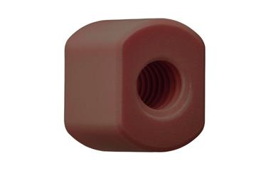 drylin® trapezoidal lead screw nut with flats, RSLM