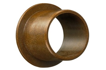 iglide® Z, sleeve bearing with flange, imperial