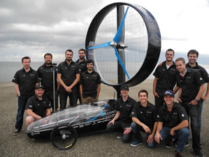 Club Chinook ETS - Wind-turbine vehicle - Team photo