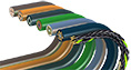 Cost-effective continuous-flex cables