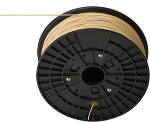 High-performance plastic filament for 3D printers