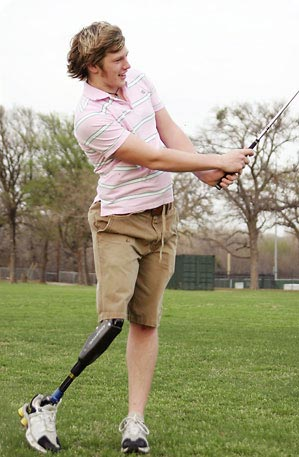 Prosthetic limb can be used in many daily activities