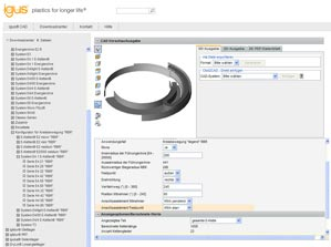 igus® 3D CAD Configurator Online Tools