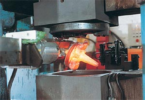Plastic bushing in foundry