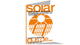 Solar technology brochure