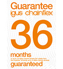 chainflex® 36 Month Guarantee