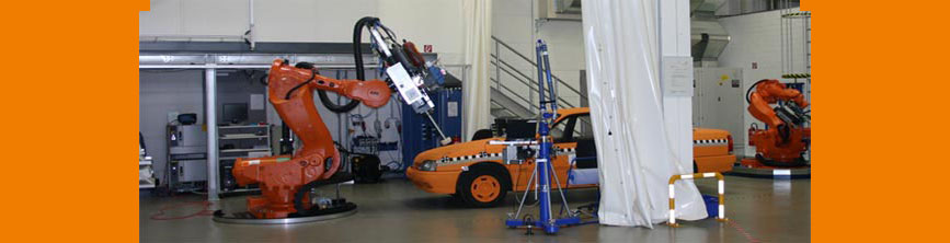 Igus 174 Cable Carriers Amp Cables On A Crash Simulation Robot