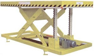 Scissor-lift table
