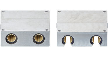 drylin® R quad block for linear applications