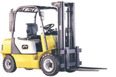 Forklift with iglide® bearings at the lifting mechanism