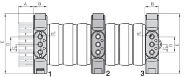 1 x IGUS Triflex Energiekette Schleppkette; TRL.40.058