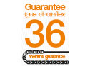 36 month guarantee for chainflex®