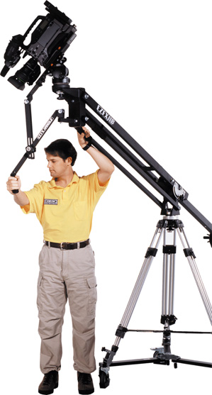 plastic bushing camera jib