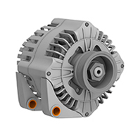 iglide® bearings replaced in the alternator