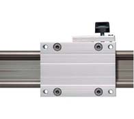 Linear motion guide with hand clamp