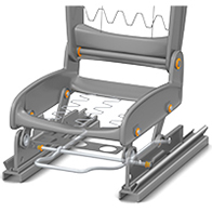 iglide® in the seat systems